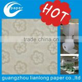 Guangzhou factory producing all kinds of watermarking/ 100% cotton paper with watermark security thread