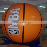 inflatable advertising balloon inflatable giant basketball balloon for display