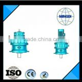 Cycloidal pinwheel reducer with electric motor for drilling rig