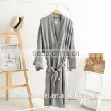 Waffle cotton bathrobes for men at home/hotel