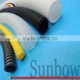 SUNBOW High Quality Flexible Corrugated PE Conduit Plastic Wiring Cable Pipe Polyethylene Hose For Cables and Cords