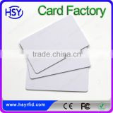 Factory alibaba smart security management RFID customized thickness blank plastic card for RFID system