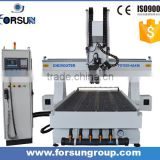 China supplier 4 axis CNC Router, woodworking cnc router cutting engraver machine for foam