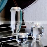 crystal ball candle holder for wedding glass candlestick