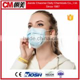 CM Chinese Factory Japan supplier disposable non woven 3ply medical print face mask