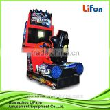 2016 Coin operated driving simulator car racing game machine/amusement arcade game machine for shopping mall