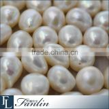 12 - 13mm large irregular baroque loose freshwater pearl beads