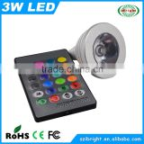 3w colorful bright led showcase light for jewelry stores 12v mr16