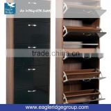 Four and Five Tier Shoe Racks made in China