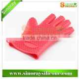 BBQ Silicone Cooking Glove, Silicone BBQ Gloves                                                                         Quality Choice