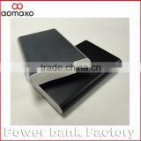 L376 metal case power bank large capacity 5000 6000 7000 8000mah polymer power bank for iphone 6 samsung smartphones