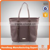 5190 Classic design genuine leather women bag fabric ladies bags model wholesale                                                                                                         Supplier's Choice