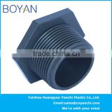 BOYAN pvc ASTM80 black pipe fitting male thread plug