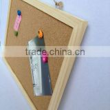 Wood Frame cork board cork chalk board40*60CM