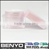 new design Benyo brand luxury acrylic jar for face cream jars for bath salts