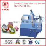 automatic cake baking paper tray making machine, china top and special manufacture in ruian city