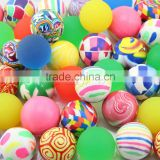 import cheap goods from china zhejiang 2015 new wholesale rubber material kids toy mini high bouncing balls 27mm