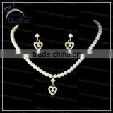 Fashion love Pearl jewelry set