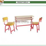 Latest product school furniture ,metal school study chair set ,school classroom desk and chair