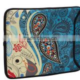 2014 New arrival Hot selling cheaper printed neoprene laptop sleeve wholesale