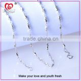 925 Sterling Silver Chain necklace Simple style Thin beautiful Chain hot sale chain necklace