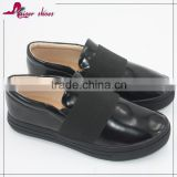 Casual shoe service wholesale flat no lace safety western women shoe