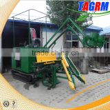 2016 New product mini sugar cane combine harvester with top chopper/small sugar cane harvesting tools for sale