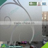 BSCI factory audit non-toxic vinyl pvc laminated heat resistance self adhesive static cling window film