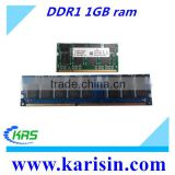 Full compatible PC/NB 2*1gb memoria ram ddr 400 2gb with CE FCC ROHS Certificate