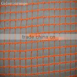 HDPE fire retardant safety construction mesh,scaffolding safety netting,orange safety barrier net
