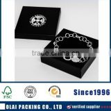 OEM black paperboard bangle packaging gift box                                                                         Quality Choice