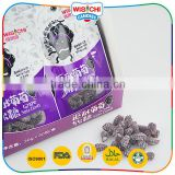 Low price sweet new grape fruity gummy soft candy