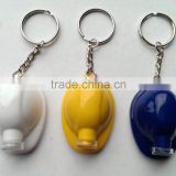 safety helmet bottle opener with led keychain