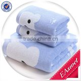woven china wholesale 100% organic cotton gift for christmas towel set in gift pack