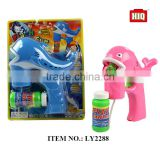 Plastic BO bubble toys dolphin design summer toys gun for children play