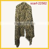 New Fashion large leopard blanket scarf For Ladys
