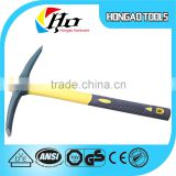 Fiberglass handle cheap price steel pickaxe