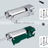 3L,5L,7L horizontal sausage stuffer/sausage maker/sausage making machine