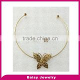 New Arrival Jewelry fashion stainless steel wire necklace set