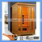 With Transom Windows,Computer Control Panel Feature and 2 People Capacity portable infrared sauna