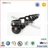 Exercise equipment cast iron kettle bell body building strength training weights
