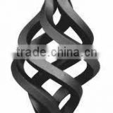 round wrought iron 6 wire basket designs