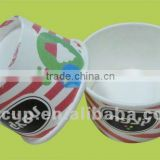 double PE ice cream paper cups with customized printing
