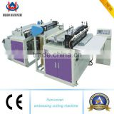 hot full automatic high speed convenient nonwoven fabric bag cutting machine Ultrasonic cutting machine for fabric