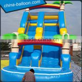 cheap price inflatable water slide with pool,2 in 1 inflatable water slide for sale                                                                         Quality Choice