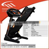 New fitness treadmill healthy equipment with 7 inch touch screen factory directly with wholeslae price