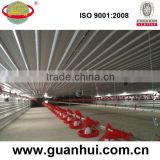Cheap steel prefabricated commercial chicken house