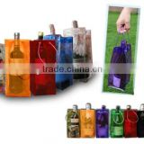 UK flag printed pvc ice bag gift bottle bag wine sack