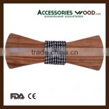 Wholesale Decorative Fashionable Wooden Bow Ties For Men and Women and Children