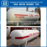 LPG gas filling machine with storage tank
